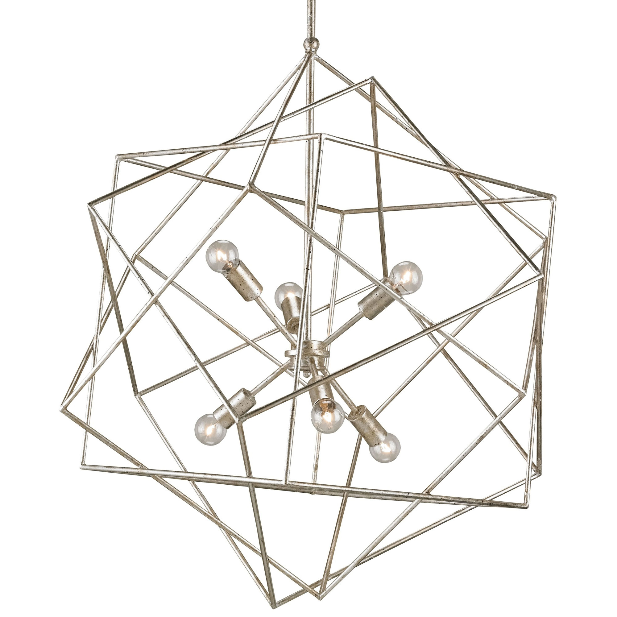 aerial chandelier by currey and company 9455 cc