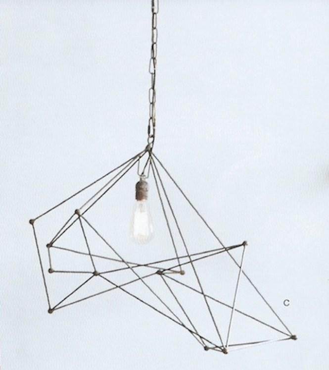 Maquette Wide Single Chandelier By Roost Rol325