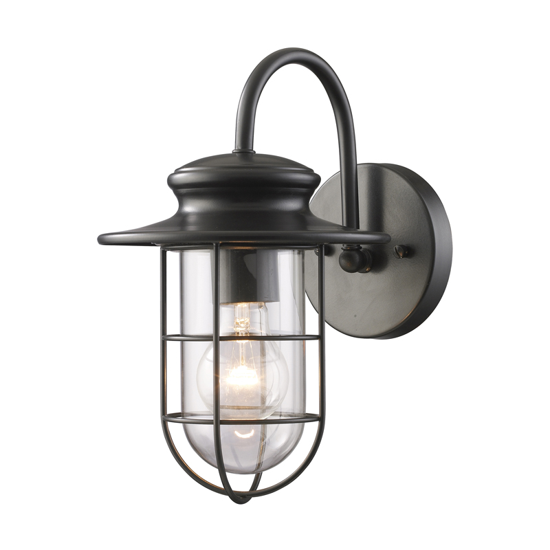 portside outdoor wall light by elk lighting 42284 1