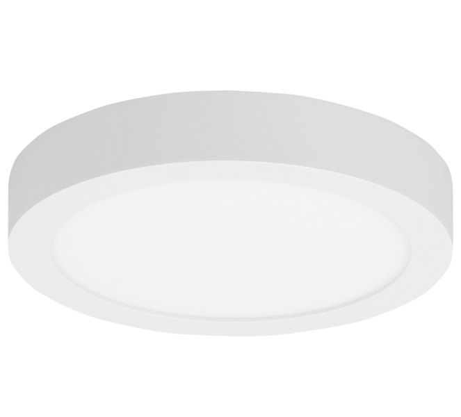 Tenur Round Ceiling Light Fixture by LBL Lighting   FM925OYWHLED930 Tenur Round Ceiling Light Fixture Download Image
