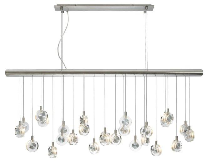 Bling Linear Suspension By Lbl Lighting Hs524crsc76