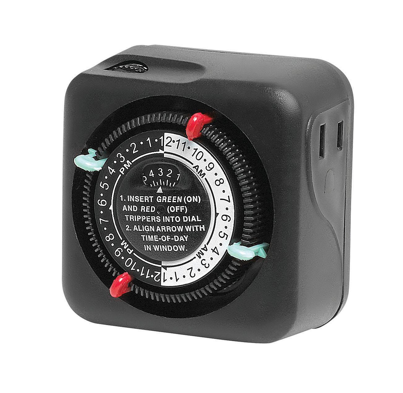 standard time clock for landscape lighting by hinkley lighting 1505tc