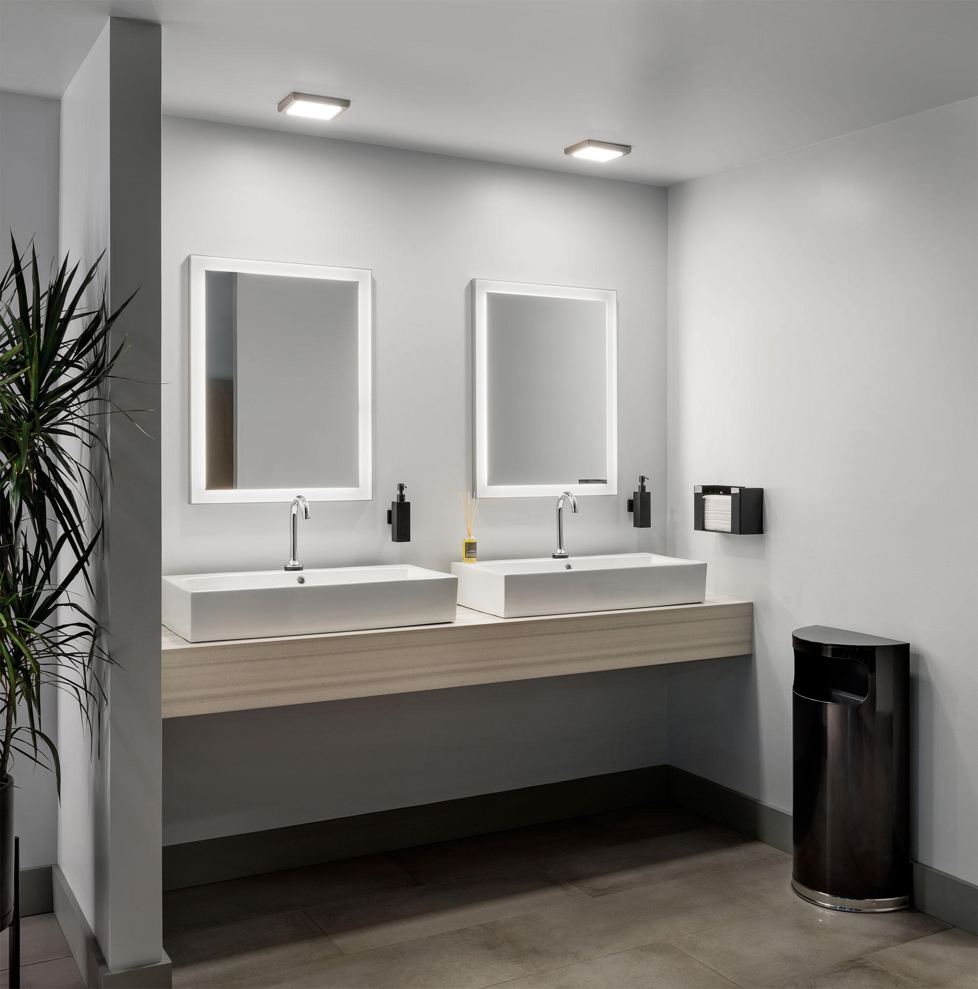 commercial lighting bathroom lighting