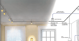 monorail lighting low voltage