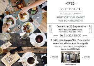 Light Optical fait son Brunch !