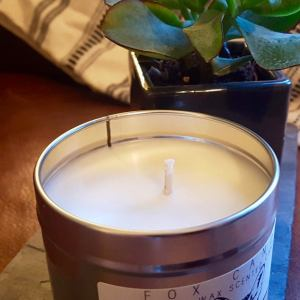 Peony Posy Scented Soy Wax Candle | Fox Candle