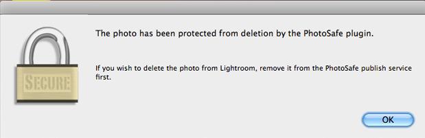 lightroom photosafe