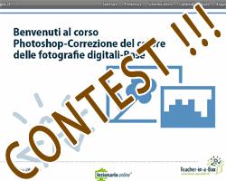 Contest: videocorso Photoshop – Correzione del colore nelle fotografie digitali – Base