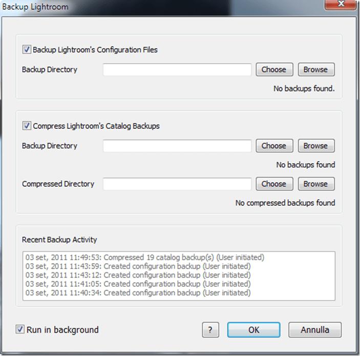 Lightroom plugin TPG LR Backup 03