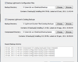 Controllo totale dei backup in Lightroom con LR Backup