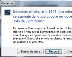 Come annullare le ultime operazioni eseguite in Lightroom? C'è un limite a questa funzione?