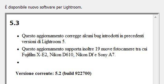 Lightroom 5.3 guida tutorial gratis download