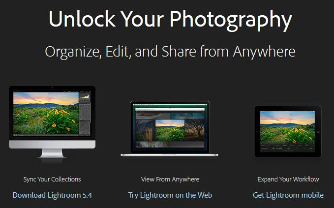 Lightroom per iPad è da oggi disponibile sull'AppStore e su web con Lightroom Mobile!