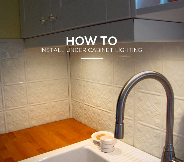 hard wire cabinet lighting. kitchen guide how to install under cabinet lighting in 6 simple hard wire