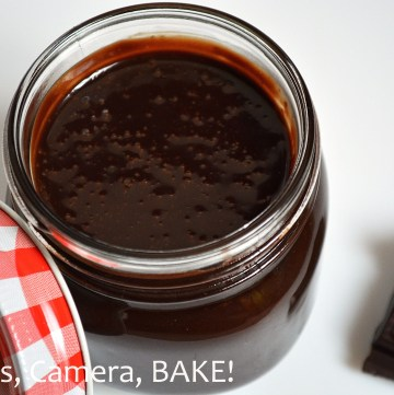 Maon Jar Chocolate Sauce. This homemade chocolate sauce comes in a 250mL reusable, glass mason jar and is perfect over ice cream or just with a spoon! Click the photo to be taken to the shop! #shop #masonjar #chocolatesauce