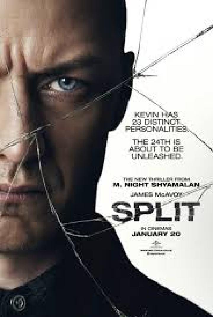 Split Movie Poster. Discussion about the movie Split found on Lights, Camera, BAKE! #movies #splitthemovie #thrillermovie