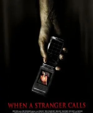 When A Stranger Calls 2006 movie poster. A film talk and movie chat/review on the thriller/horror movie When A Stranger Calls. #whenastrangercalls #haveyoucheckedthechildren #moviereview #Movieposter #horror
