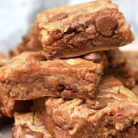 Condensed Milk Blondies