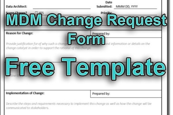 MDM Change Request Form