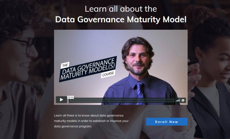 data governance maturity model course
