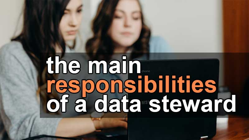 main responsibilities of a data steward