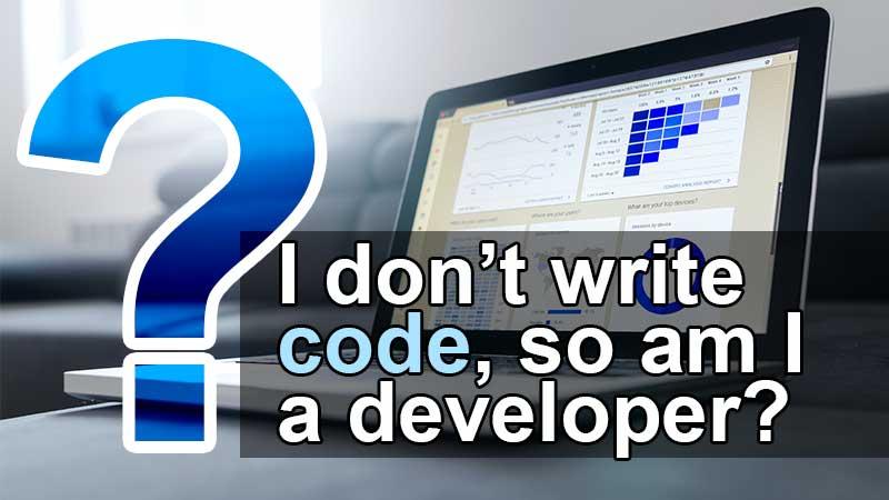 am i a developer