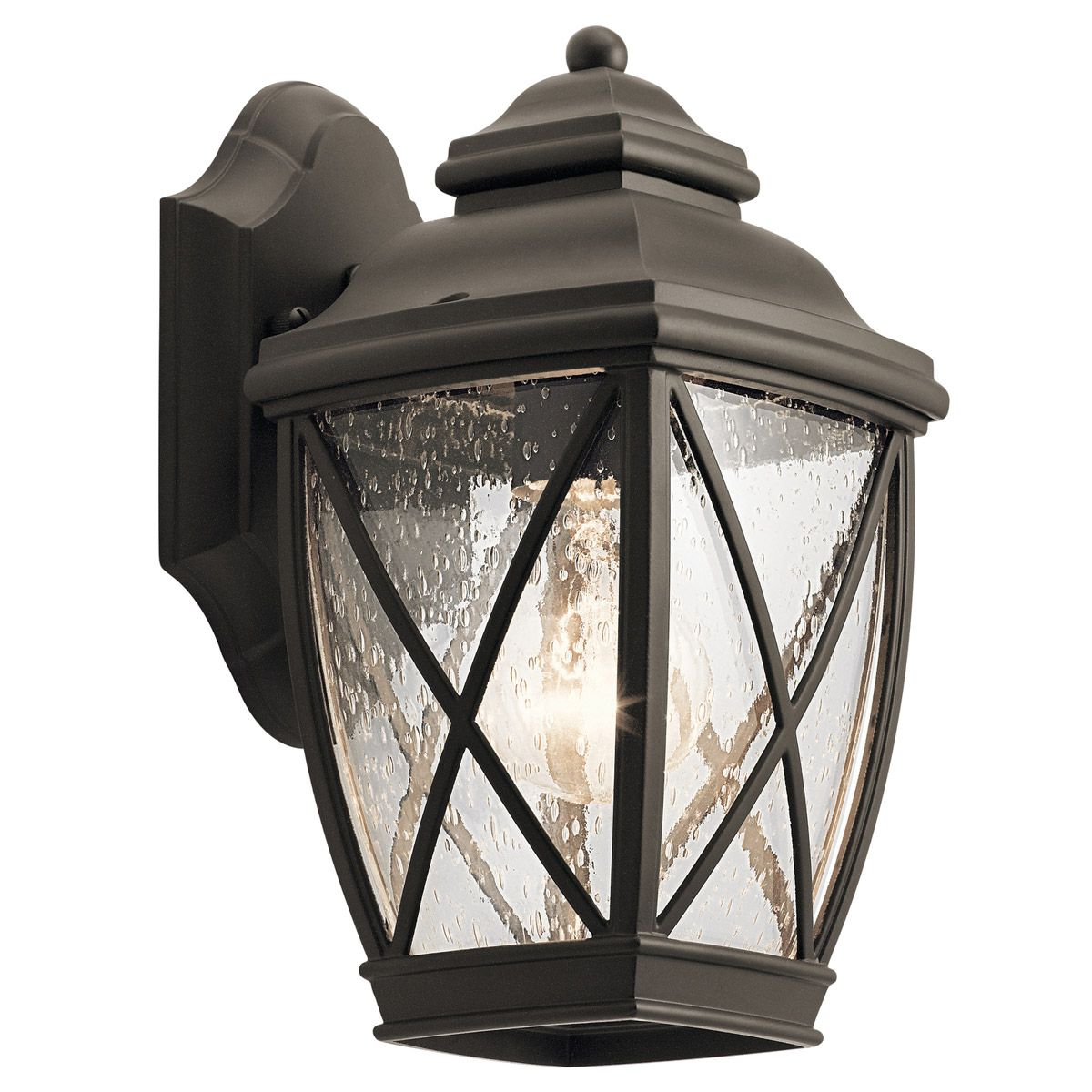 """Kichler Tangier 10.25"""" Outdoor Wall Sconce in Olde Bronze on Kichler Olde Bronze Wall Sconce id=14742"""