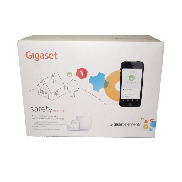 Gigaset elements start kit beveiliging alarm