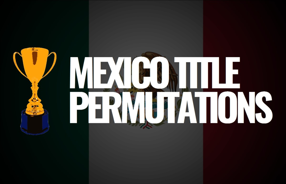 2018 F1 Title Permutations: Mexico