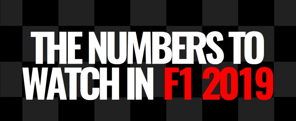 The Numbers to Watch in F1 2019 - Lights Out ○○○○○