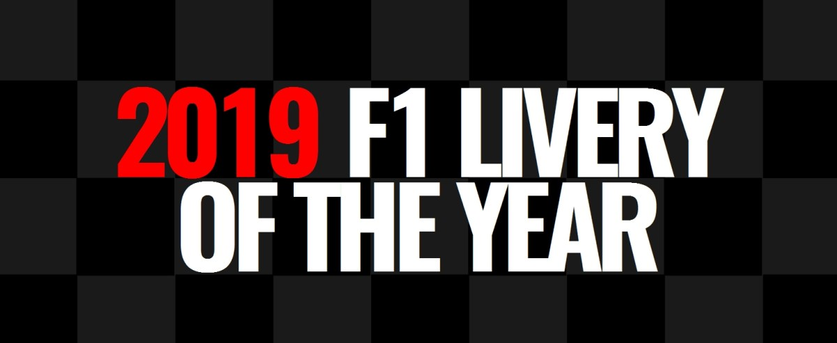 2019 F1 Livery of the Year