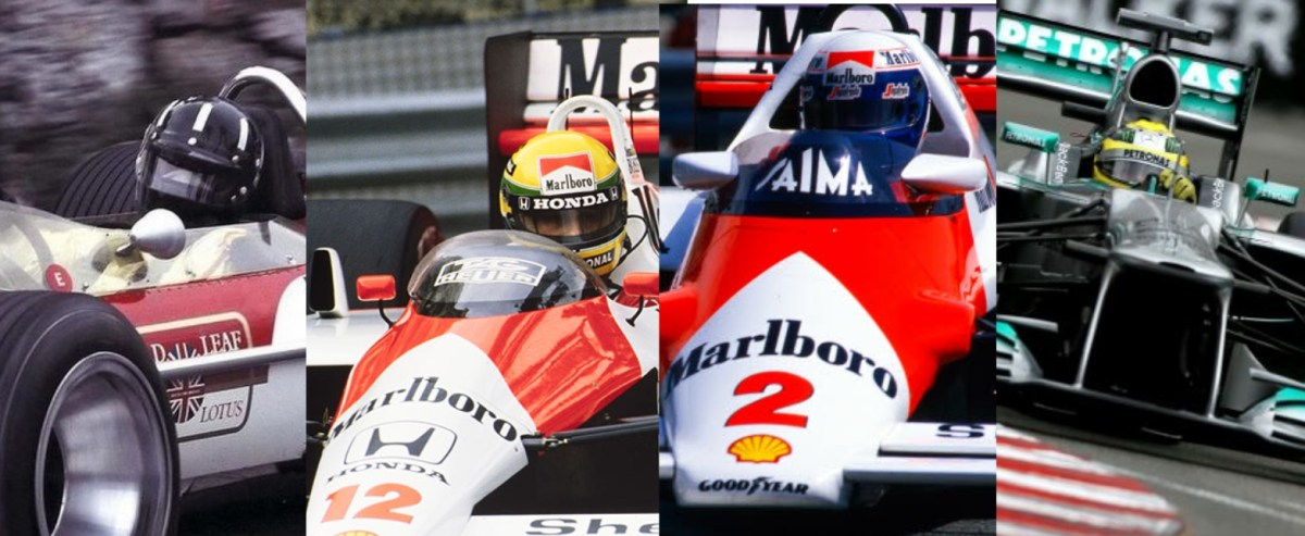 Back to Back Successes at the Monaco Grand Prix
