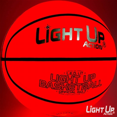 Light Up Basketball *Silver Edition*