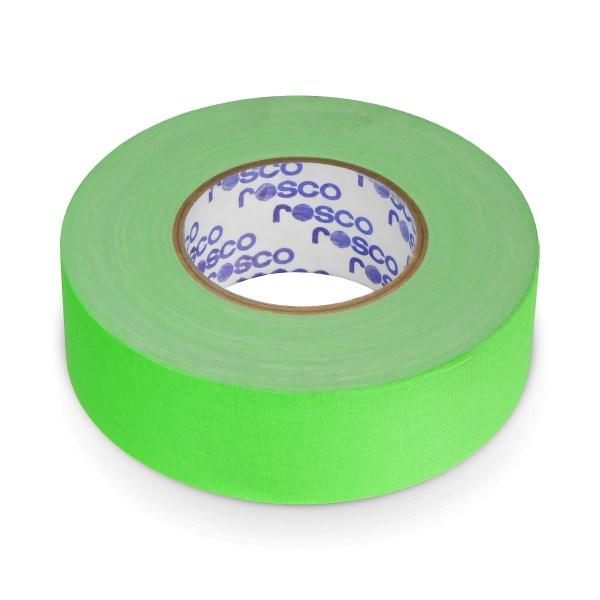 Rosco Fluro Green TAPE 50MM x 50M Roll