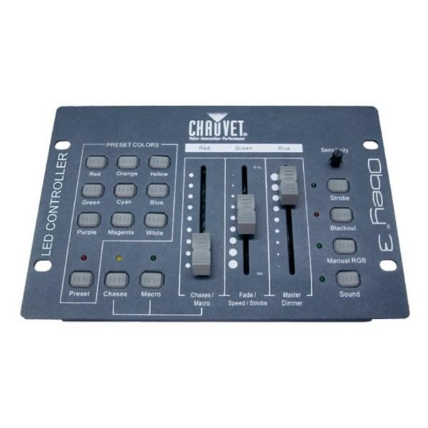 Chauvet DJ OBEY 3 3 Channel DMX Controller
