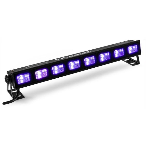 Beamz BUV93 UV LED BAR With 8 X 3W UV LEDs