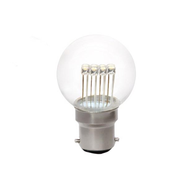 Glitter LED fancy round lamp