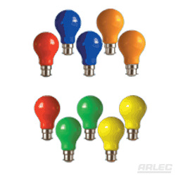 REPLACEMENT COLOURED LAMPS