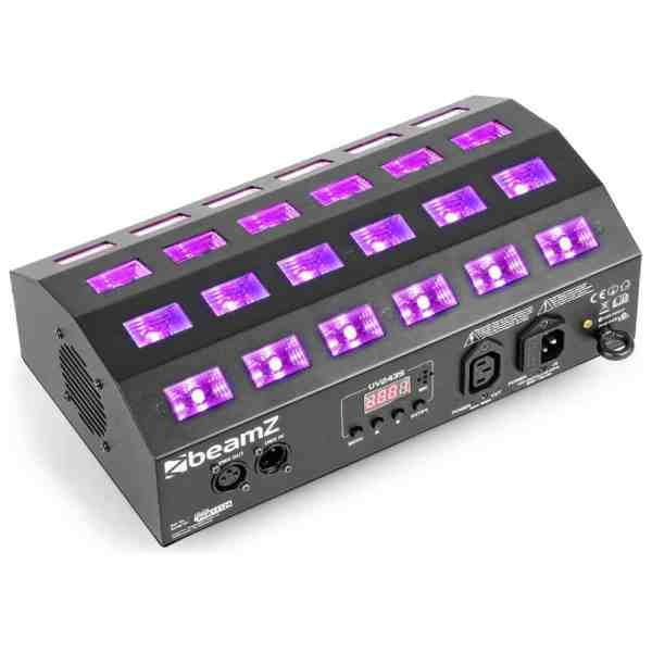 Beamz BUV463 LED UV LIGHT WITH DMX