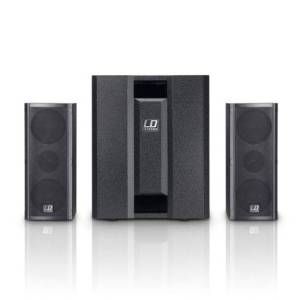 LD SYSTEMS DAVE8-ROADIE 2.1 Split PA System 700w
