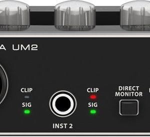 Behringer UM2 U-Phoria 2x2 Audio Interface