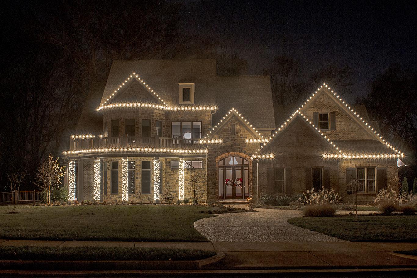 Christmas Lights White Led