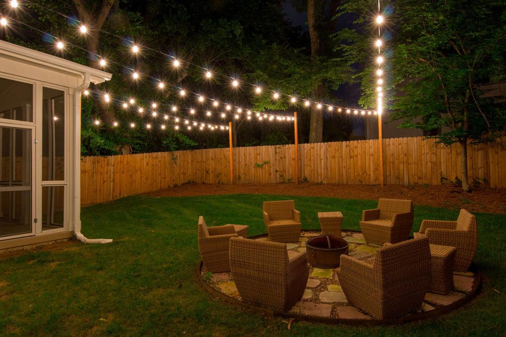 Custom String Lights | Light Up Nashville | Outdoor String ... on Backyard String Light Designs id=80088