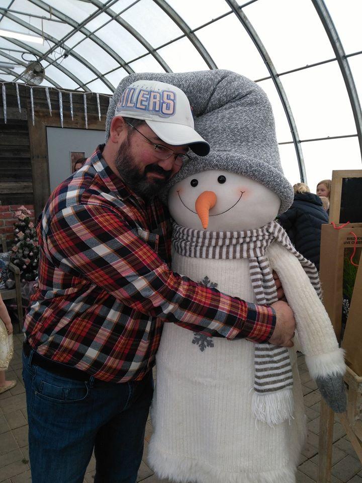 Christmas Grotto hug