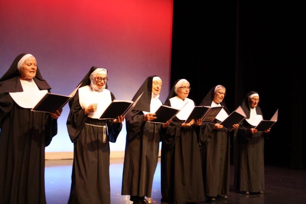 Variety show 2019 singing nuns sextet