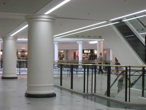 Refurbishment to West London shopping mall. In association with BDP London