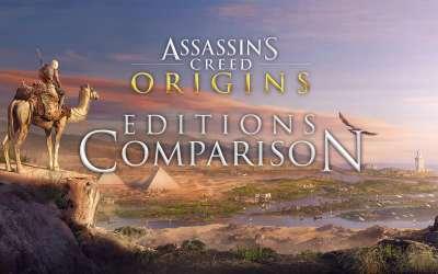 Assassin's Creed Origins Editions Comparison