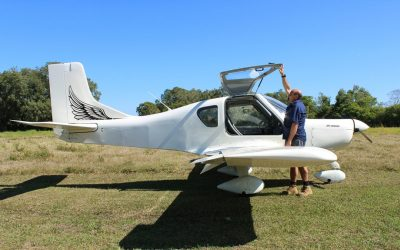 ALWSP2000 White Aircraft GullDoor