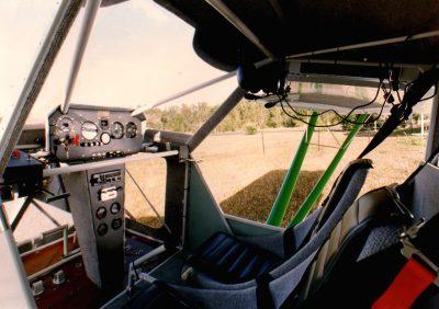 Australian LightWing GR 912 Green Cockpit