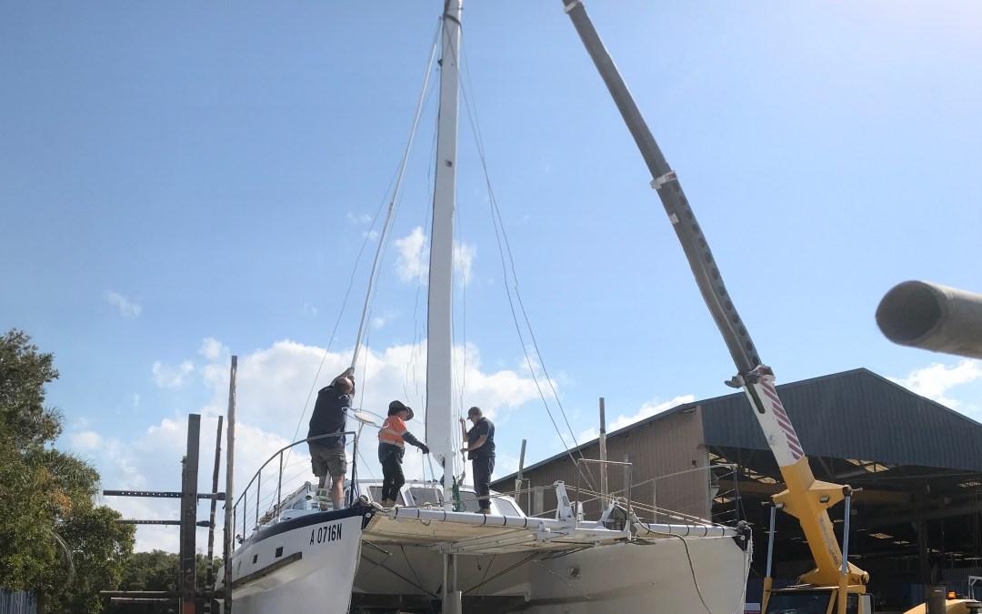 The Cunning Cat Catamaran